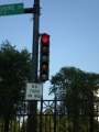 Semafor na chicagské ulici. Autor: Karolina
