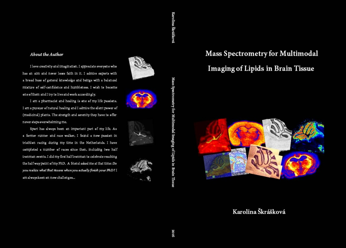 Phd thesis cover page design