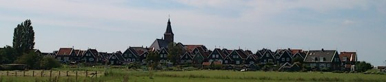 Marken, fish village near Amsterdam