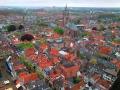 Pohled na Delft ze věže Nieuwe Kerk